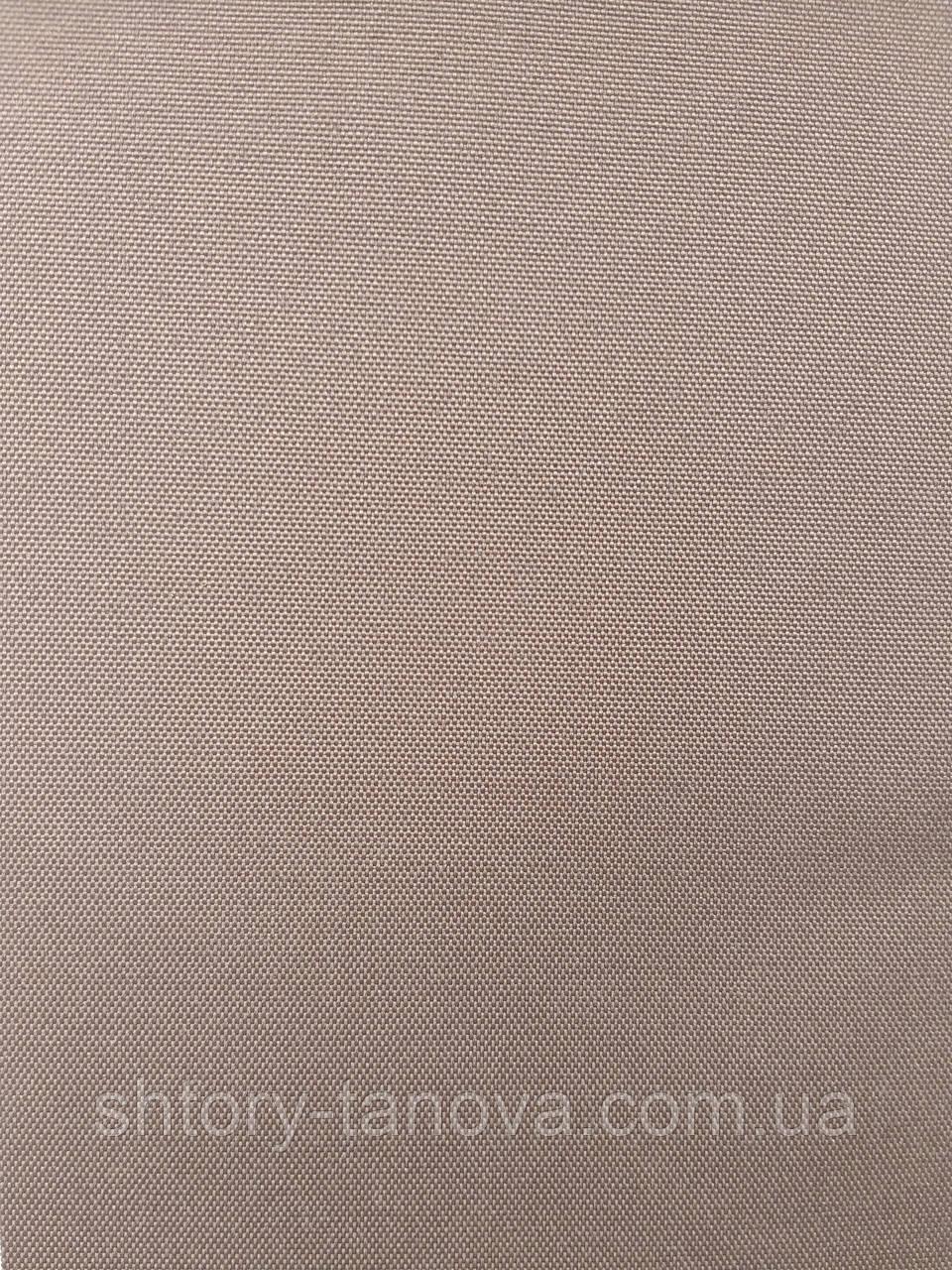 Рулонные шторы рубин блэк-аут (блекаут) кофейный