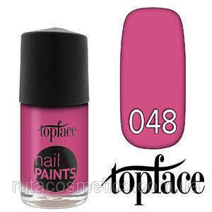 Topface лак для ногтей Nail Paints Polish 48
