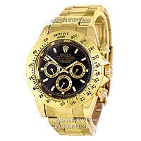 Часы Rolex Daytona AA Men Gold-Black