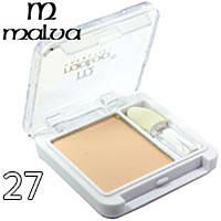 Тени для век одинарные Malva cosmetics M374-27 (телесные светлые матовые )