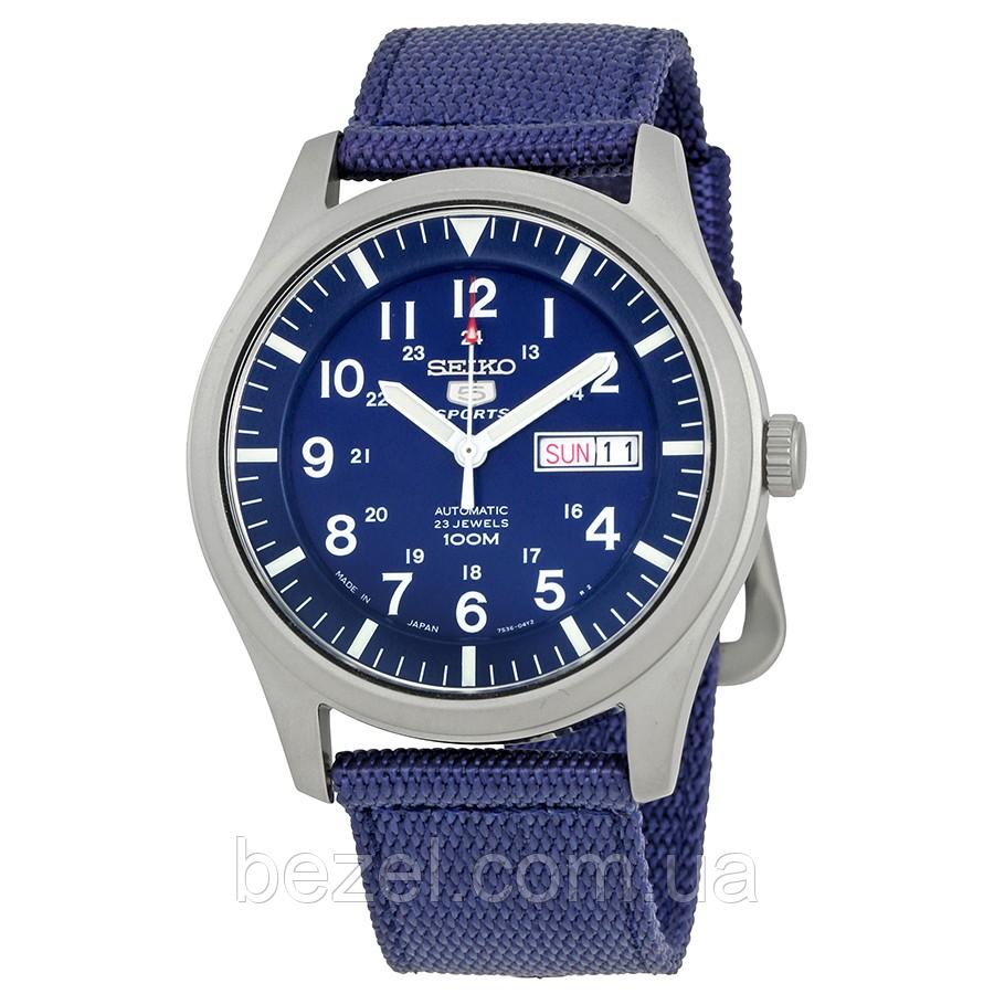 Мужские механические часы Seiko 5 Automatic SNZG11J1 Сейко часы механические с автоматическим заводом