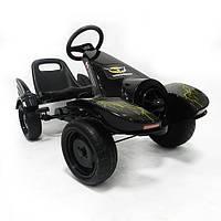 Детская педальная машина веломобиль Карт M 3416-2