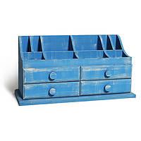 Оригинальный подарок - Мини-комод «Lauren» синий