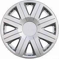 Колпаки на колеса диски для дисков R13 серые Silver Космос колпак