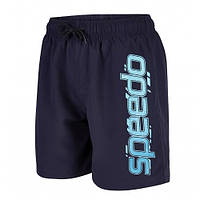 Плавательные шорты детские Speedo Graphic Leisure 15 WS Placement Blue