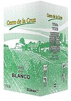 Вино Cerro de la Cruz BiB Blanco Seco біле сухе 5л