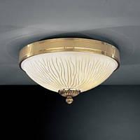 Потолочный светильник RECCAGNI ANGELO PL 5750/2 золото/желтый