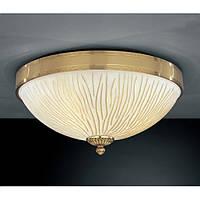 Потолочный светильник RECCAGNI ANGELO PL 5750/3 золото/желтый
