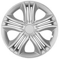 Колпаки на колеса диски для дисков R13 серые Silver Фан колпак