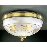 Потолочный светильник RECCAGNI ANGELO PL 6002/3 бронза/serigrafia