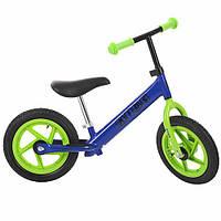 Беговел Profi Kids 12 дюймов M 3440A-5 резиновые колеса (синий)