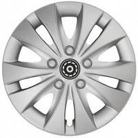 Колпаки на колеса диски для дисков R13 серые Silver Шторм колпак