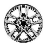 Колпаки на колеса диски для дисков R13 хром 5001 колпак