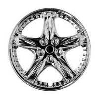 Колпаки на колеса диски для дисков R13 хром 5006 колпак K0071