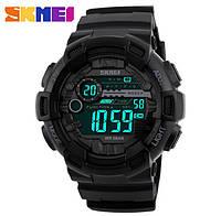 Супер цена! Спортивные электронные мужские часы Skmei 1243