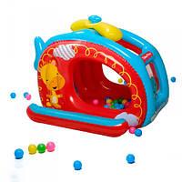 Детский надувной игровой центр BESTWAY 93502,Вертолет