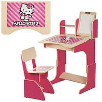 Детская парта Растишка F101 Hello Kitty