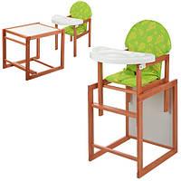 Стульчик для кормления со столиком Трансформер М V-013-9