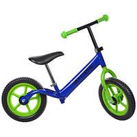 Беговел детский Profi Kids 12 дюймов M 3436-5 (синий)
