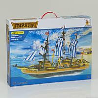 """AUSINI 27806 (12) """"Пиратский корабль"""" 857 дет., в коробке"""