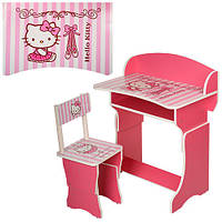 Парта со стульчиком 301-8 Hello Kitty (5)