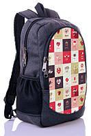 Рюкзак New Design Шахматы серый , детский , взрослый, подросток