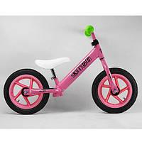 Беговел детсикй  Profi Kids 12 дюймов M 3440A-2 (розовый)
