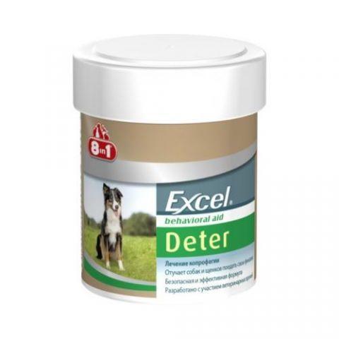 8in1 Excel Deter Coprophagia 100 таблеток, средство для собак от поедания экскрементов