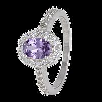 Серебряное кольцо с фианитами Арлетта 000025500 18 размера