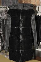 Шуба из меха нутрии, куртка,трансформер