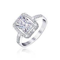 Серебряное кольцо с фианитами Делайт 000025503 18.5 размера
