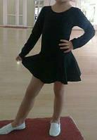 Купальник с юбкой для гимнастики/танцев,р.92,98,104,110. лосины детские, фото 1