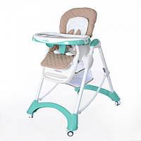 Детский стульчик для кормления CARRELLO Caramel CRL-9501 Green