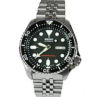 Мужские механические часы Seiko SKX007K2 Сейко часы механические с автоподзаводом
