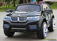 Детский электромобиль на мягких колесах BMW X4 черный M 2392 EBR-2