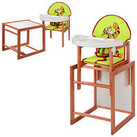 Стульчик для кормления со столиком Трансформер М V-013-30-8