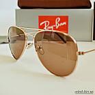 Очки Ray Ban brown (replica), фото 7
