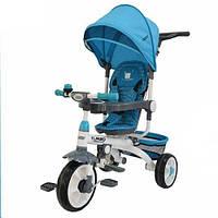 Трёхколёсный велосипед TURBOTRIKE M 2722-1, голубой