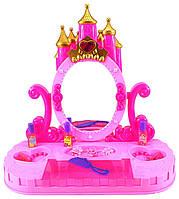 """Трюмо 661-38 (18) """"Замок принцессы"""", свет, звук, на батарейке, в коробке"""