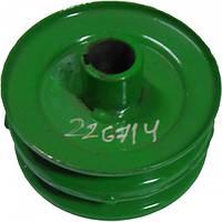 Шкив шнека загрузочного (2-х руч) ПК-20