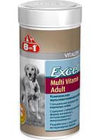 Витамины для собак 8in1 Excel Multi Vit-Adult 70 таблеток, мультивитаминный комплекс для взрослых собак 1-7лет