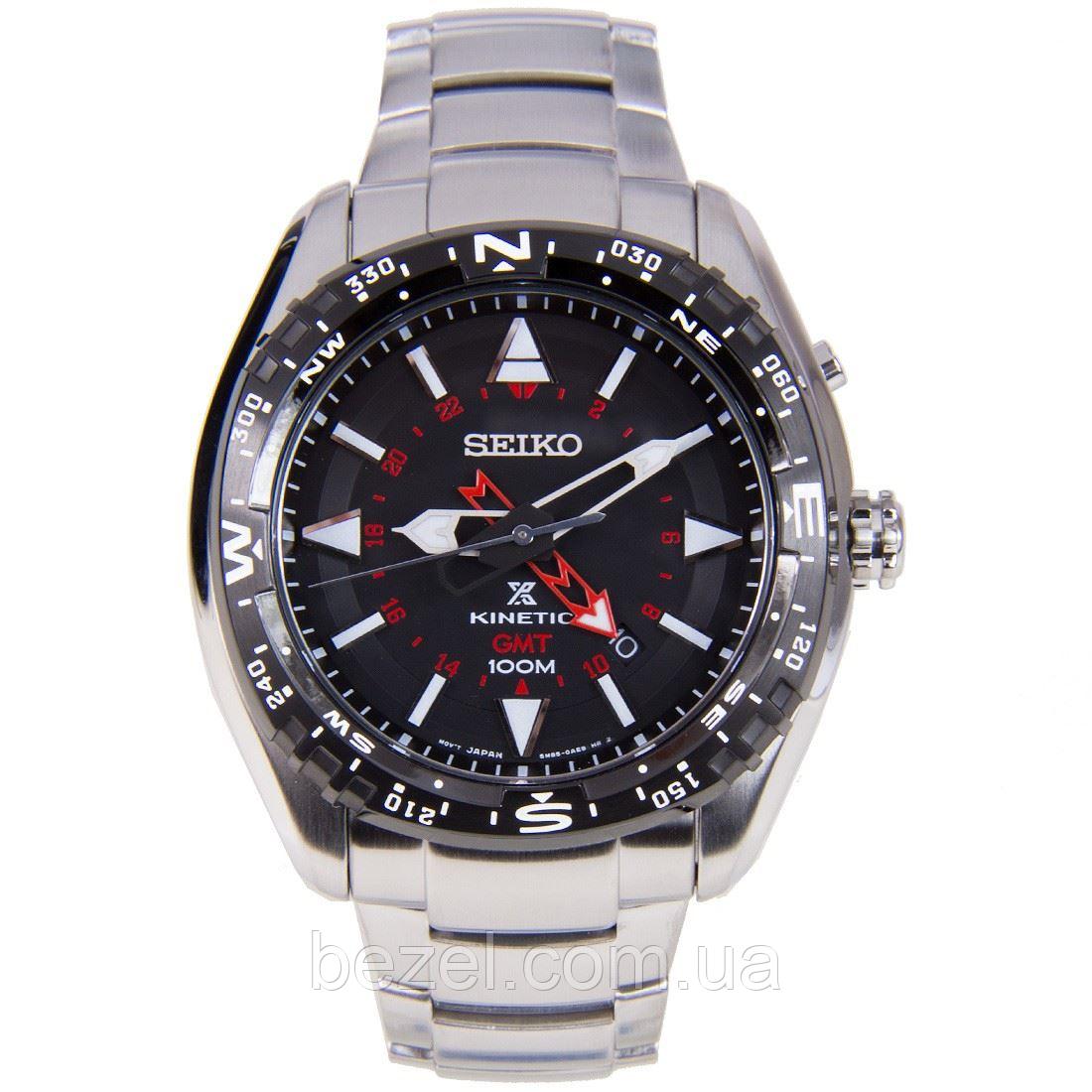 Мужские кварцевые часы Seiko SUN049P1 Сейко часы механические с автокварцем