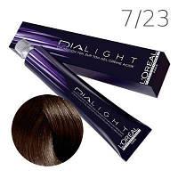 L'Oreal Professionnel краска для волос DIAlight 7.23 Медовая лаванда