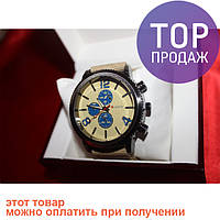 Наручные мужские часы CURREN (blue-coffee)