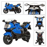 Детский электрический мотоцикл Z 283-4 черно-белого цвета