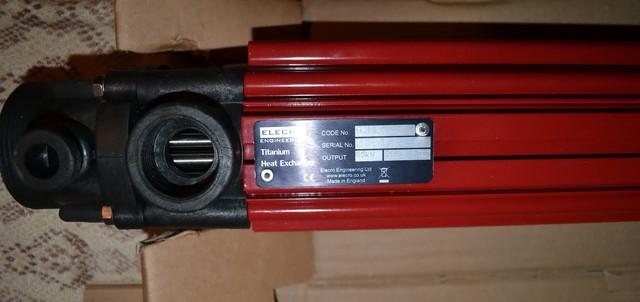 подключение и размеры теплообменника Elecro 49 kw G2 HE 49T
