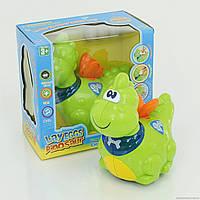 Динозаврик 114 А (48/2) 2 цвета, муз, свет, на батарейке, в коробке
