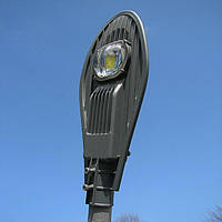 Прожектор светодиодный уличный на столб 50W 6000K 5500LM IP65 Rengel