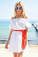 Д994 Платье летнее прошва