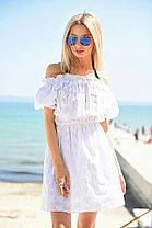 Д994 Платье летнее прошва , фото 3